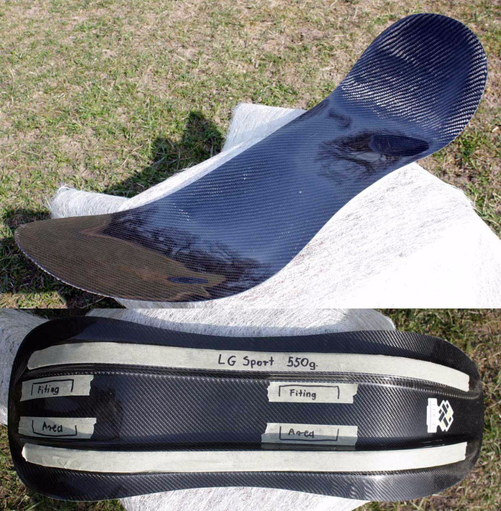 Recumbent seat from Thor Composite Recumbent seats - Carbon seat model Sport Large 550g.